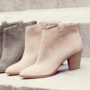 Jcrew Suede ankle boots (Eaton bootie)